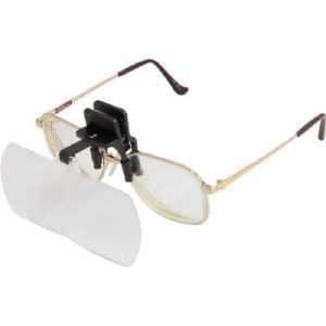 池田レンズ 双眼メガネルーペクリップタイプ1.6倍