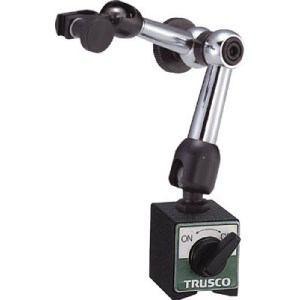 TRUSCO マグネットベース 小型ロック機能付