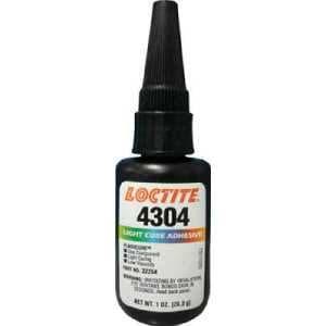 ロックタイト 紫外線可視光硬化型接着剤 4304 28g