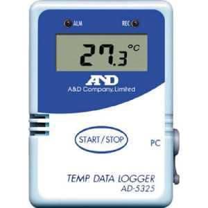 A&D 温度データーロガー 8000メモリー