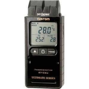 カスタム デジタル温度計(Kタイプ2ch)