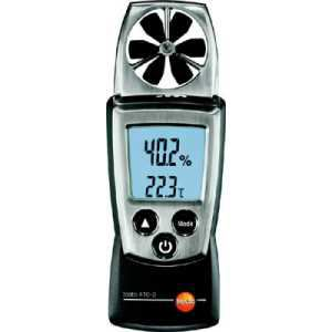 テストー ポケットラインベーン式風速計 TESTO410-2温湿度計付