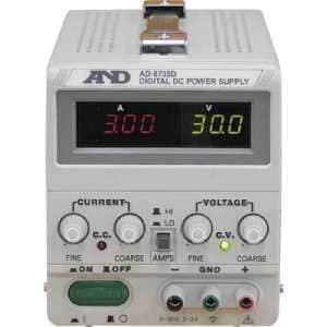 A&D 直流安定化電源トラッキング動作可能LEDデジタル表示