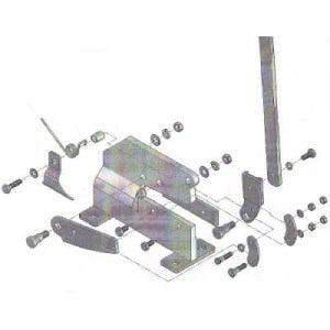 TRUSCO P-1用六角ボルトNO.10