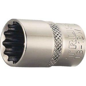 TRUSCO ソケット 12角タイプ 差込角9.5 対辺21mm