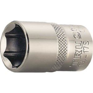 TRUSCO ソケット 6角タイプ 差込角12.7 対辺15mm