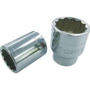 エビ ソケット 12角 13.0mm 差込角9.5mm