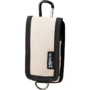 TRUSCO コンパクトツールケース 携帯電話用 ベージュ