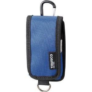 TRUSCO コンパクトツールケース 携帯電話用 ブルー