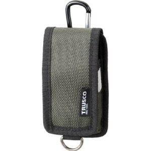 TRUSCO コンパクトツールケース 携帯電話用 グリーン