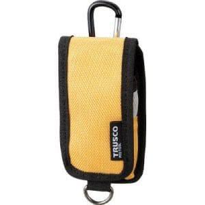 TRUSCO コンパクトツールケース 携帯電話用 イエロー