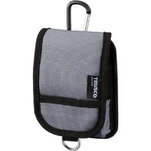 TRUSCO コンパクトツールケースワイド 1ポケット グレー