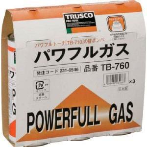 TRUSCO パワフルガス240g 3本パック