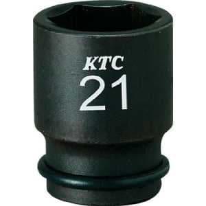 KTC 9.5sq.インパクトレンチ用ソケット(セミディープ薄肉)19mm