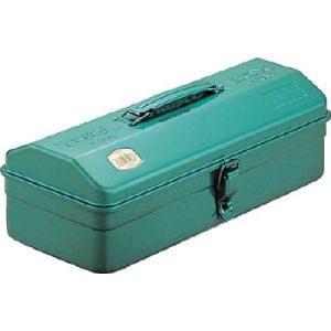 TRUSCO 山型工具箱 359X150X124 グリーン