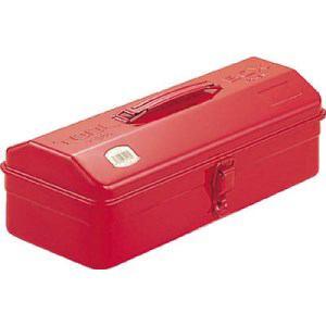 TRUSCO 山型工具箱 359X150X124 レッド