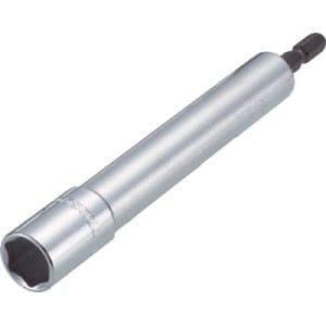 TRUSCO 電動ドライバーソケット ロング 17mm