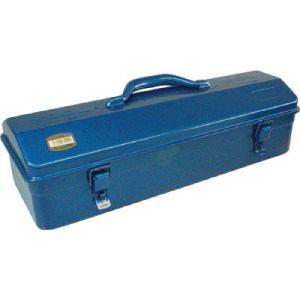 TRUSCO 山型工具箱 460X161X177.5 ブルー