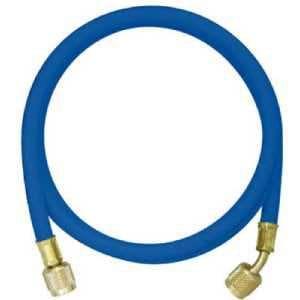 アサダ R410A用チャージングホースプラス2 92cm 青