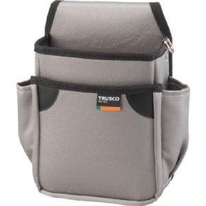 TRUSCO 小型腰袋 二段 グレー