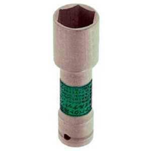 TONE インパクト用薄形ロングホイルナットソケット 22mm