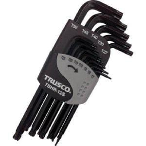TRUSCO ボールポイントヘックスローブレンチセット(12本組)T7H~T50