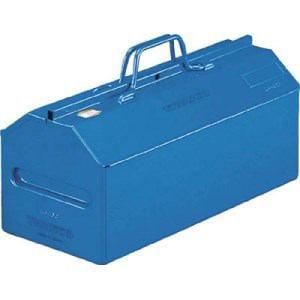 TRUSCO 山型中皿付工具箱 533X201X261 ブルー