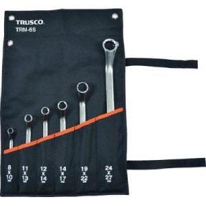 TRUSCO 45°両口めがねレンチセット(6本組)