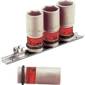 TONE インパクト用薄形ホイルナットソケットセット(ホルダー付) 4pcs