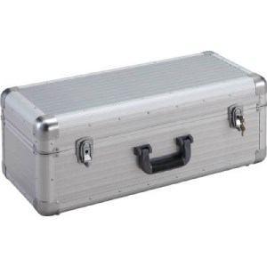 TRUSCO 大型アルミ工具箱 内寸640X260XH230 シルバー