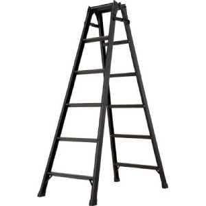 ハセガワ アルミ製はしご兼用脚立 クロコ