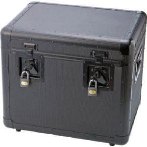 TRUSCO 万能アルミ保管箱 黒 480X360X410