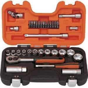 バーコ インチソケットセット 1/4 3/8 差込角6.35mm 12.7mm