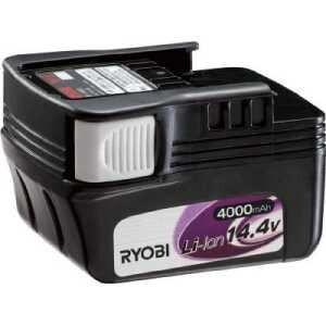 リョービ リチウムイオン電池パック 14.4V 4000mAh