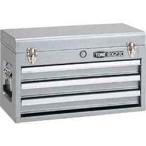 TONE ツールチェスト 508X232X302mm シルバー