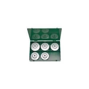 KTC 大径用カップ型オイルフィルタレンチセット[5コ組]