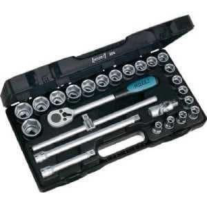HAZET ソケットレンチセット(6角タイプ・差込角12.7mm)