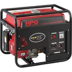 ワキタ エンジン発電機 HPG-2500 60Hz