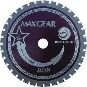 チップソージャパン マックスギア鉄鋼用125