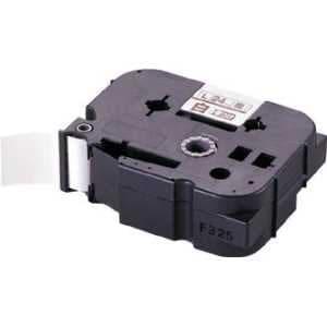 MAX ラベルプリンタ ビーポップミニ 24mm幅巻きつけテープ 白地黒字