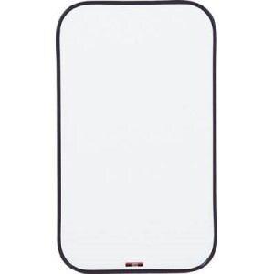 TRUSCO スチール製ホワイトボード 無地・ミニタイプ 600X350