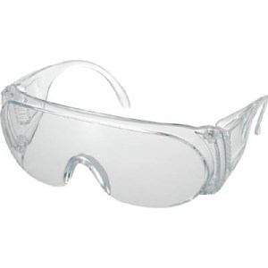 TRUSCO 一眼型保護メガネ レンズクリア
