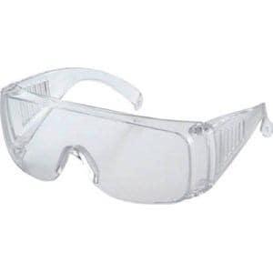TRUSCO 一眼型セーフティグラス レンズ透明 10個入