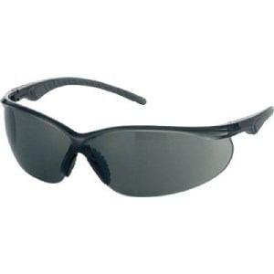 TRUSCO 二眼型セーフティグラス ソフトテンプルタイプ レンズグレー