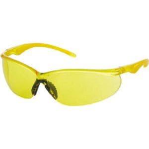 TRUSCO 二眼型セーフティグラス ソフトテンプルタイプ レンズイエロー