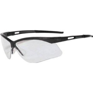 TRUSCO 二眼型セーフティグラス フレームブラック