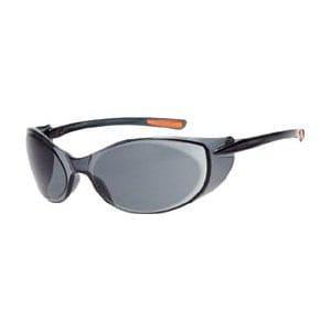 TRUSCO 二眼型セーフティグラス ゴーグルタイプ レンズグレー