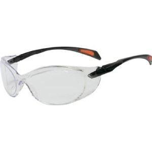 TRUSCO 二眼型セーフティグラス ゴーグルタイプ レンズクリア