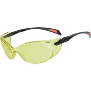 TRUSCO 二眼型セーフティグラス ゴーグルタイプ レンズイエロー