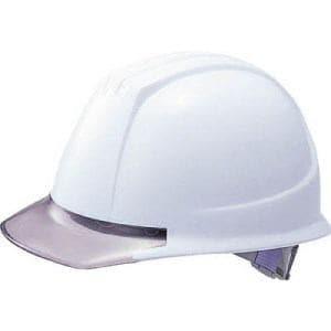 TRUSCO ヘルメット バイザー透明グレー ホワイト